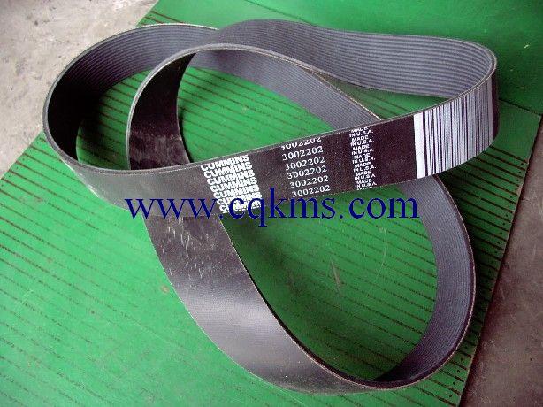 新疆 喀什 康明斯维修配件 3002202康明斯发电机组KTTA19-G2风扇皮带*