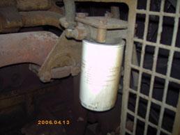 康明斯发电机上海 200KW风冷发电机组-水滤器