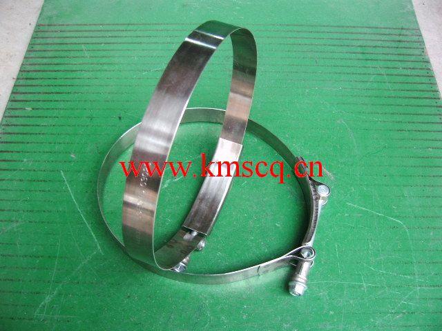 矿用洒水车配件 140313-重型不锈钢抱箍