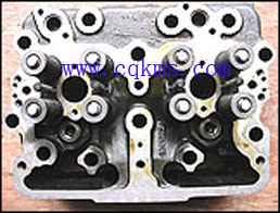 汽车气缸盖总成 康明斯垃圾车发动机KTA19汽缸盖3811985*