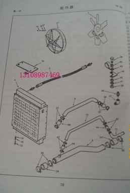 进口柴油机康明斯 4061030康明斯修理重庆康明斯散热器