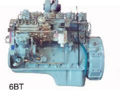 柴油发电机,康明斯6BT发动机JFZ130-4充电机