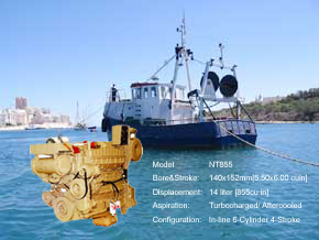 船舶主机NT-855-G-GC-GS康明斯配件*
