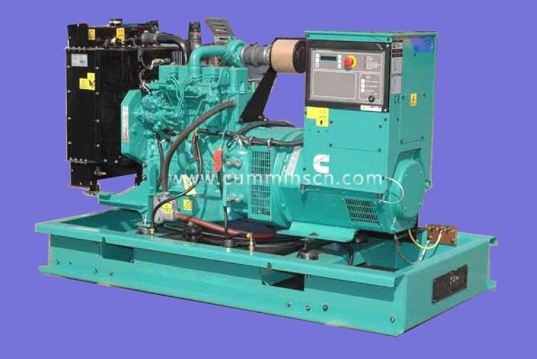 33kw东莞康明斯发电机组4B3.9-G2-50Hz