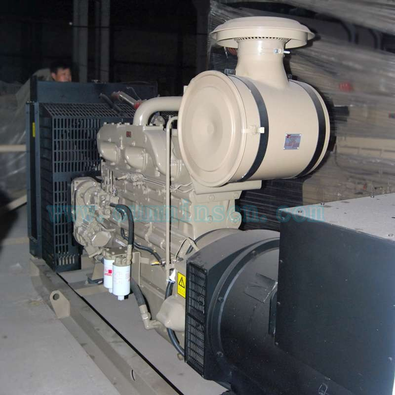 312KVA东莞康明斯发电机组NTA855-G1-60Hz