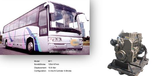 车发动机M11-330-370ESP康明斯发动机配件*