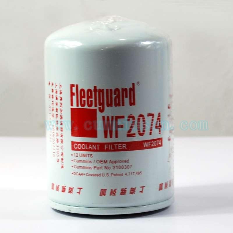 发动机水滤 康明斯6c8.3水滤WF2074*