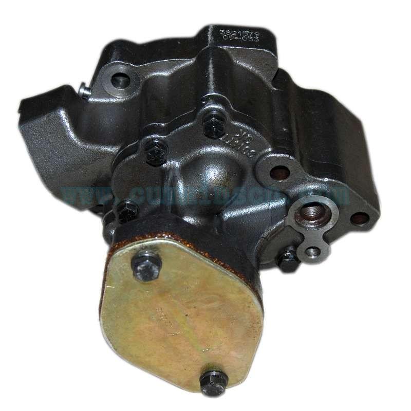 发动机康明斯机油泵 NT855船用主机3821579机油泵