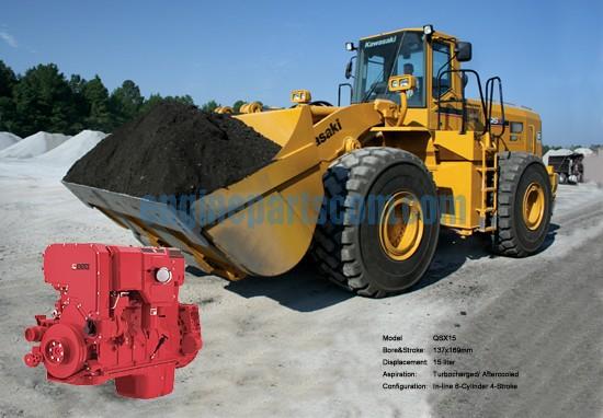滑移装载机QSX15康明斯发动机配件QSX15-A